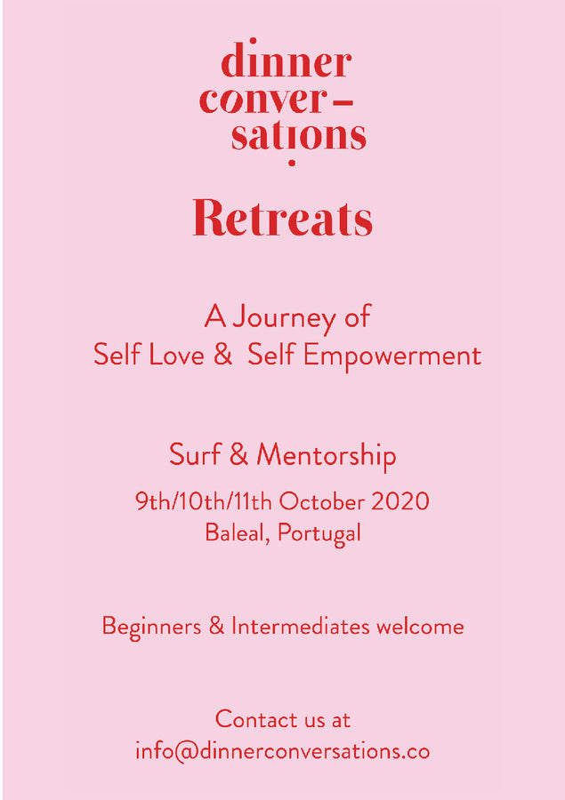 Dinner Conversations Retreats - 9th/10th/11th October - Baleal, Portugal