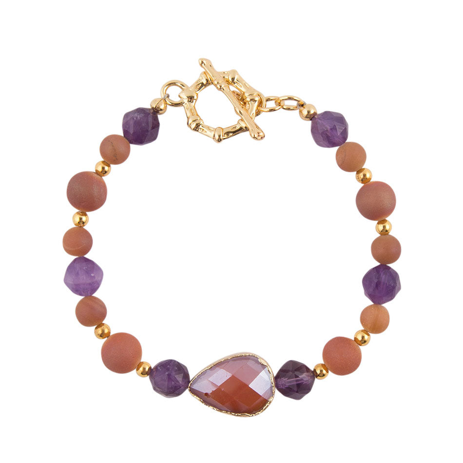 Autumn Light Toggle Bracelet