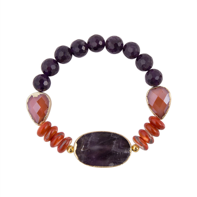 Purple Sunrise Bracelet