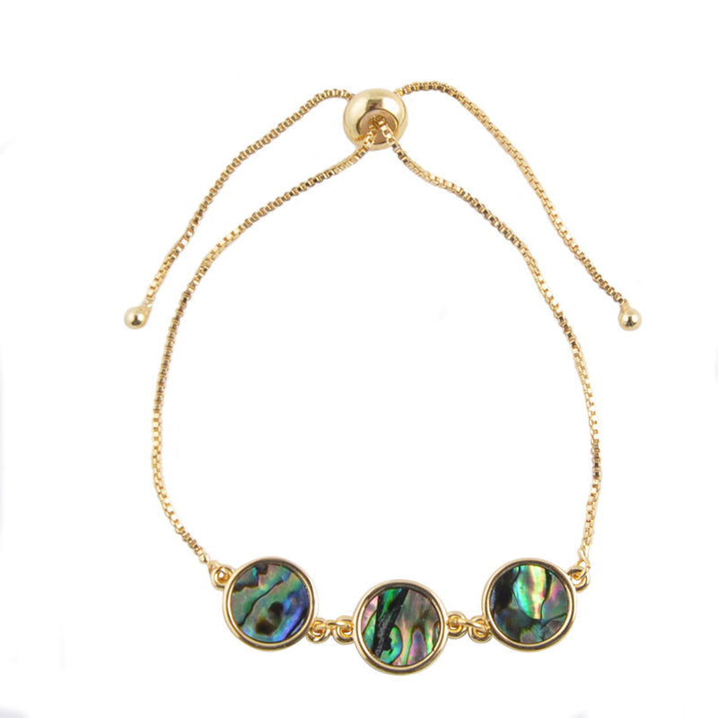 Slide into Abalone - Slider Bracelet