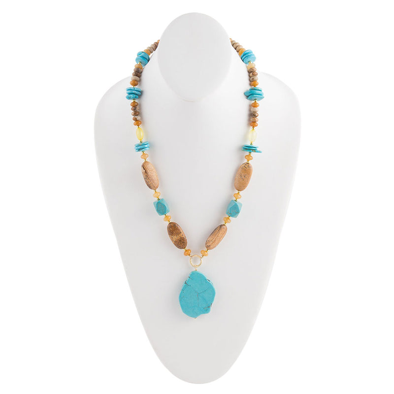 Tahoe Turquoise Necklace