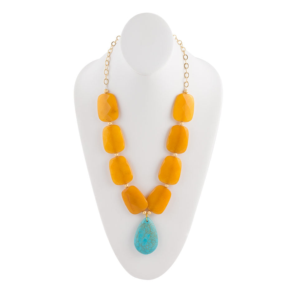 Turquoise Nectar Necklace