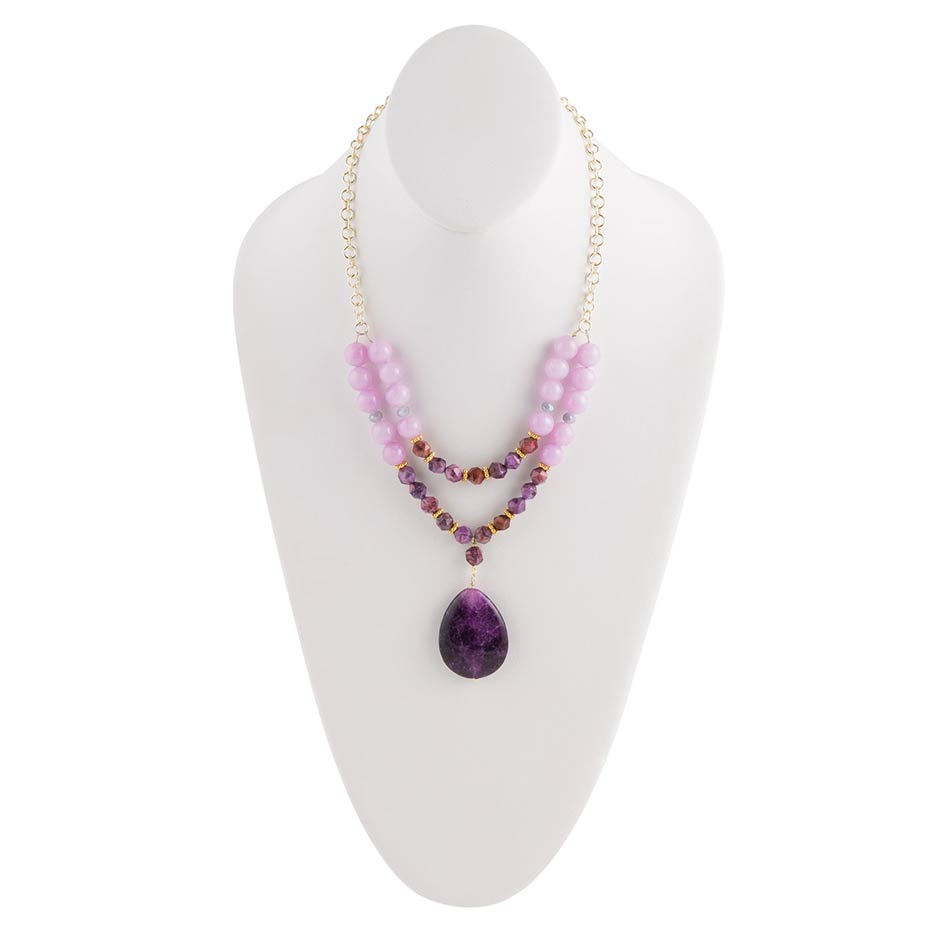 Purple Dreams Necklace