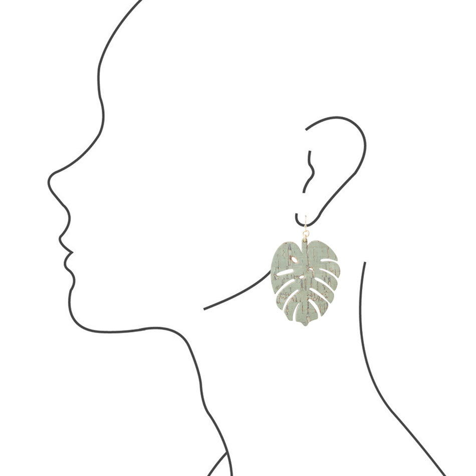 Palm Paradise Earring