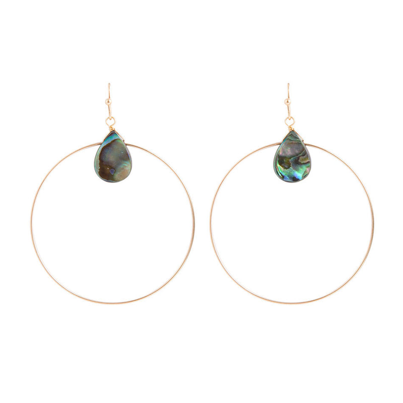 Abalone Dream Hoop
