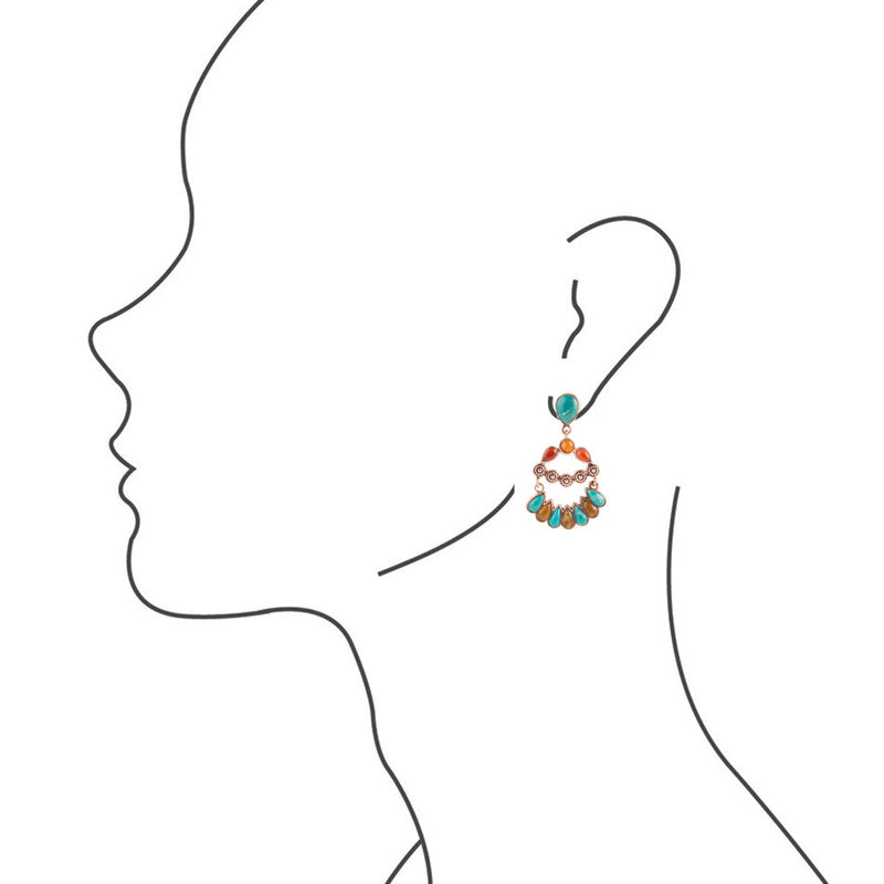 Botanical Bliss Post Earring