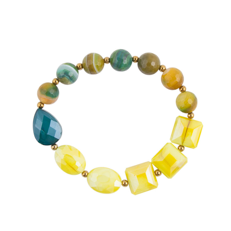 Lemon Glass Bracelet