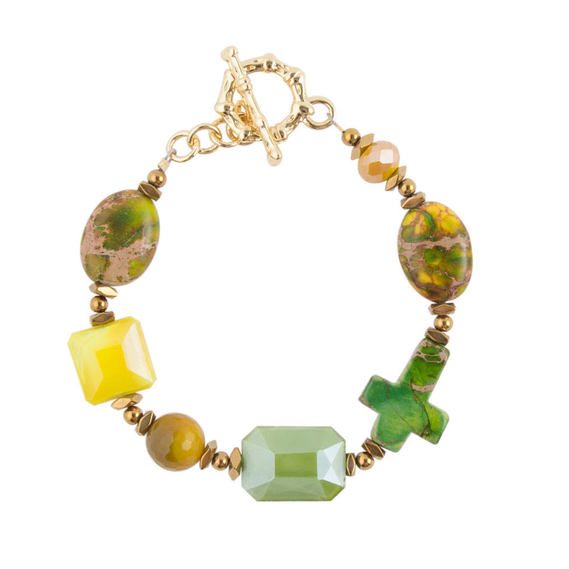 Loving Grace Toggle Bracelet