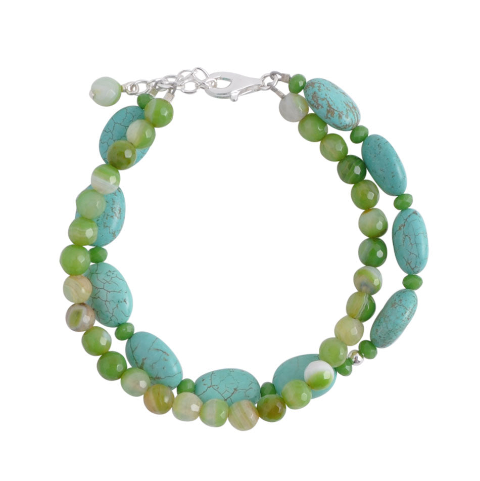 Margarita Mix Double Strand Bracelet