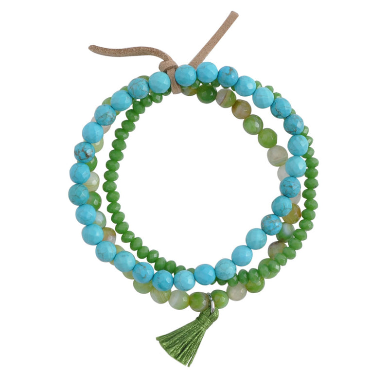 Spirit of Spring Multi Strand Bracelet