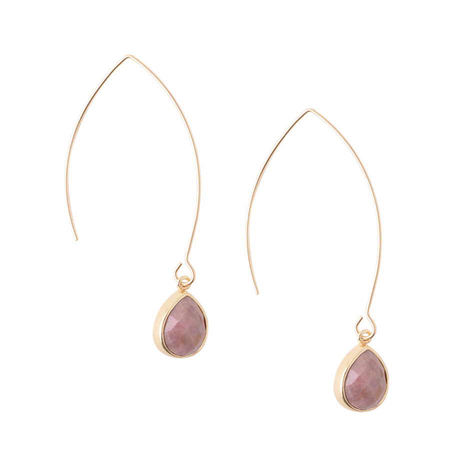 Just Dropping In - Jasper Earring