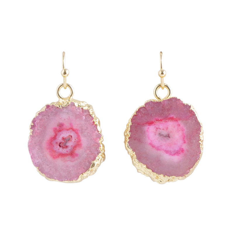 Druzy Days Earring