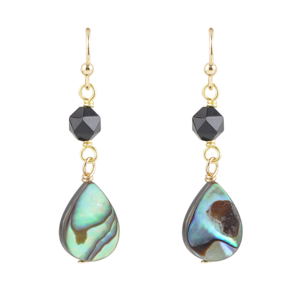 Midnight Shell Earring