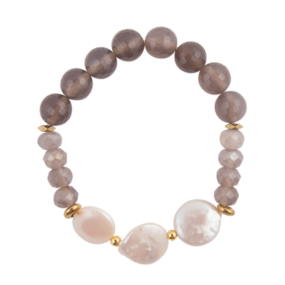 Simple Mother of Pearl Bracelet