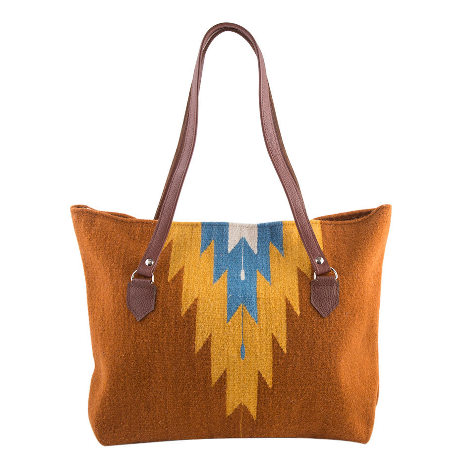 Way Out West Wool Tote Bag