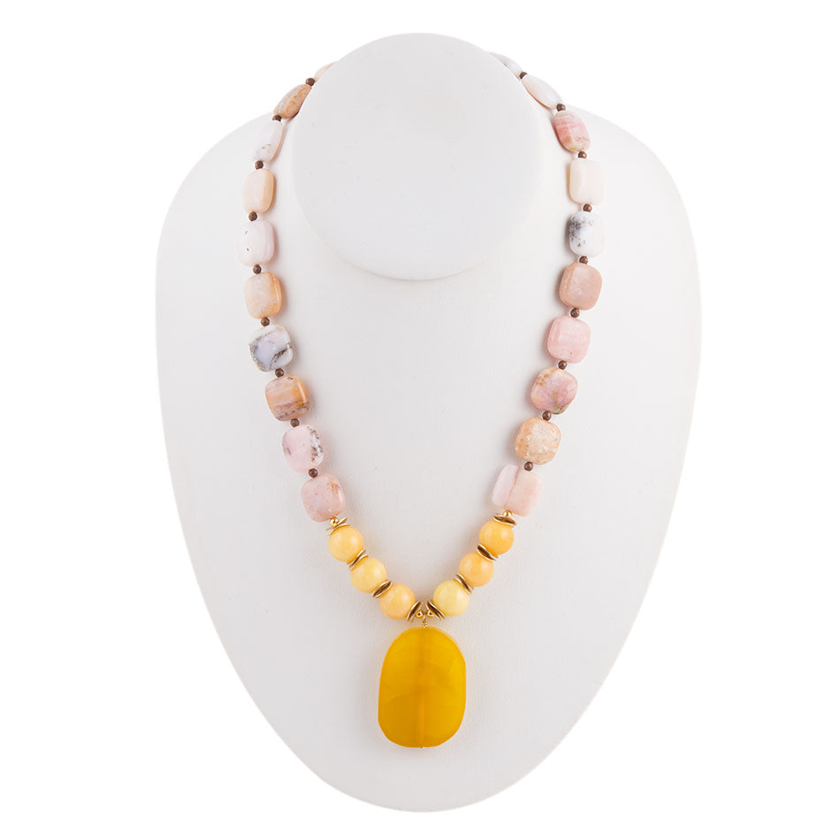 Drop of Honey Necklace