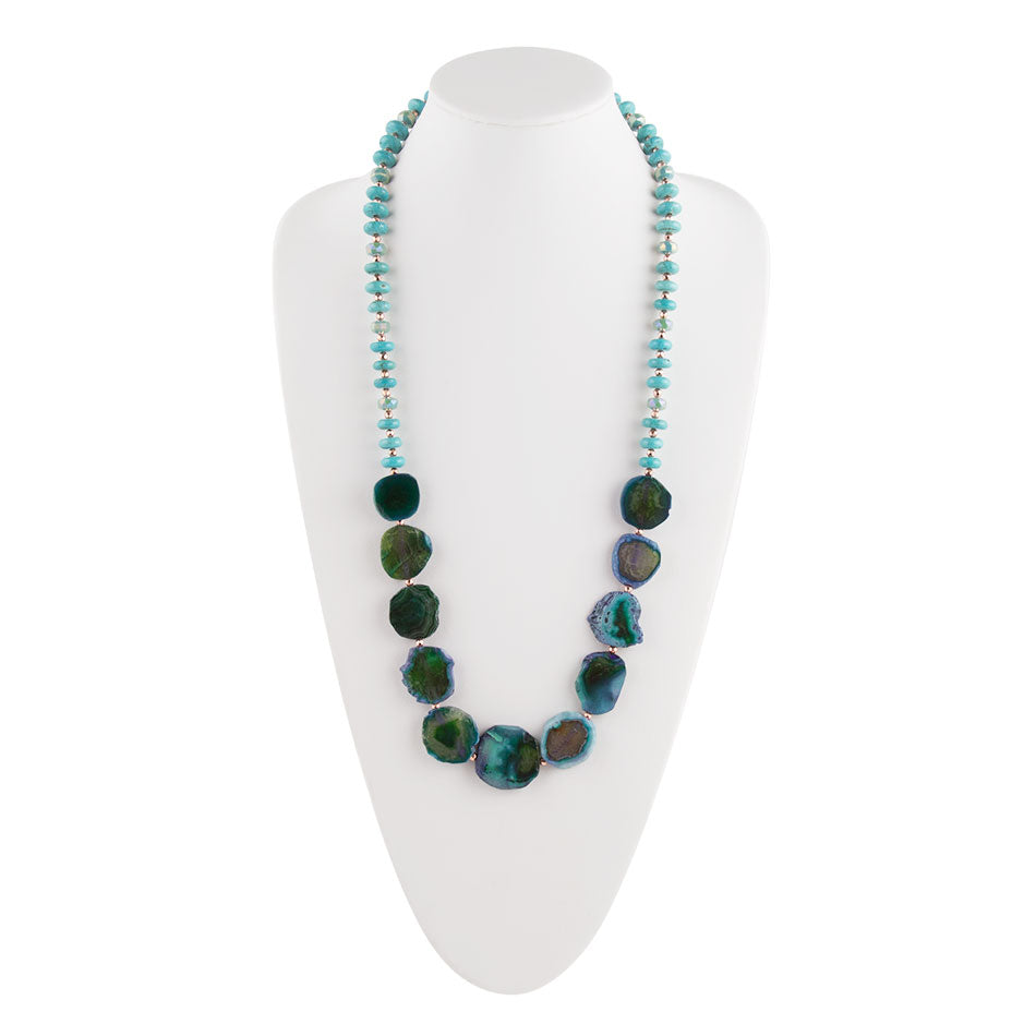 Oceans of Agate Necklace