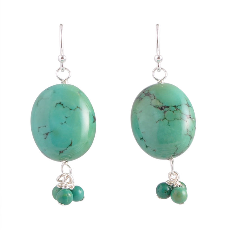 Sea and the Sky Drop Earring