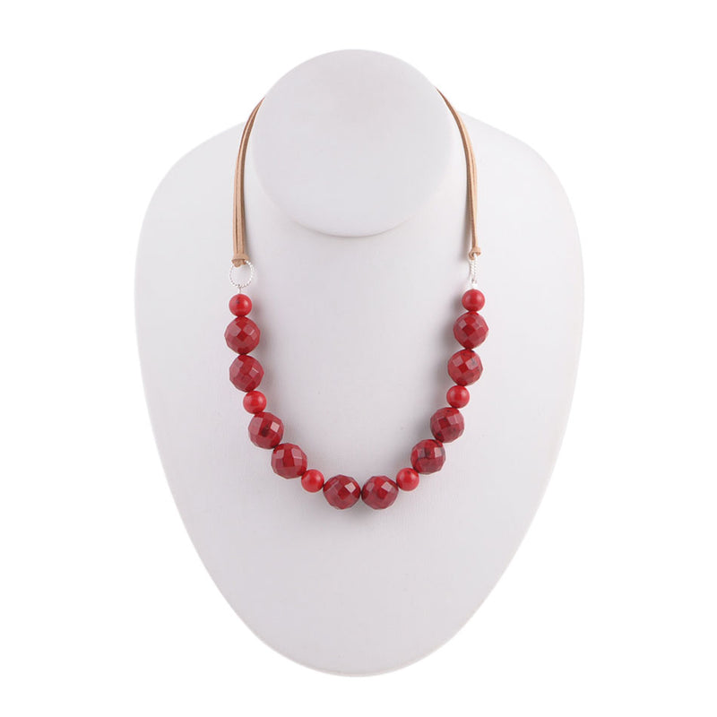 Red Out West Necklace