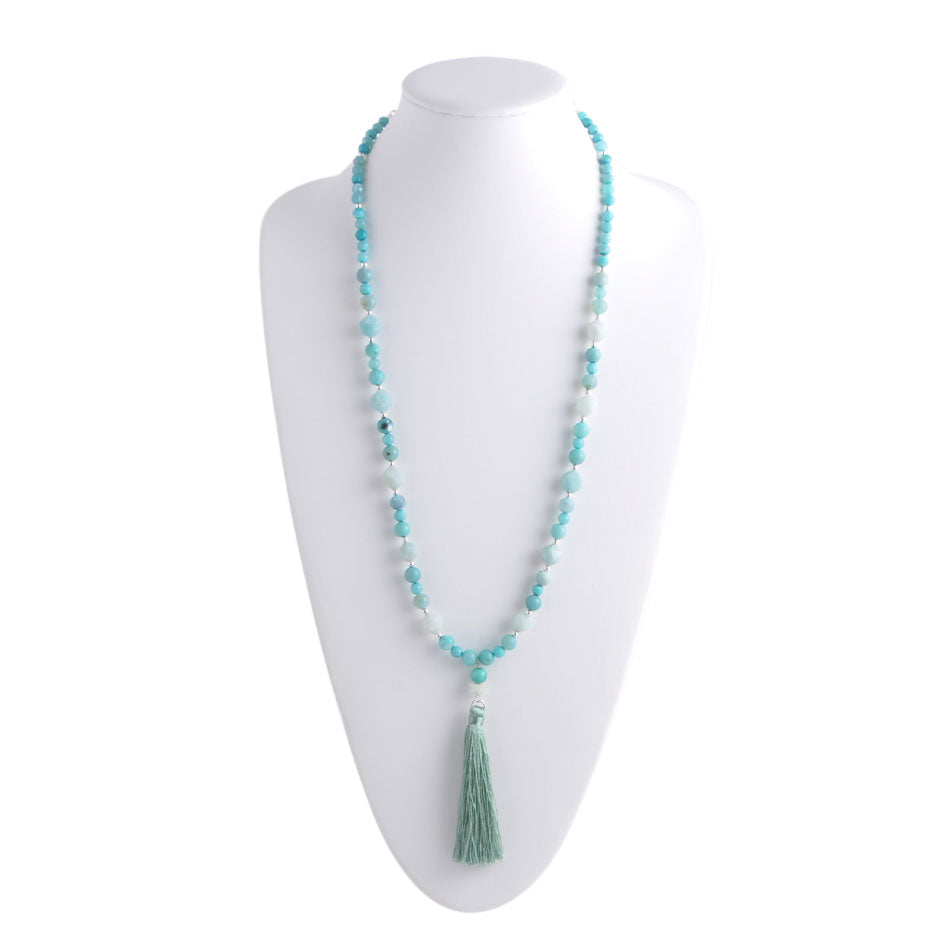 Water's Edge Tassel Necklace