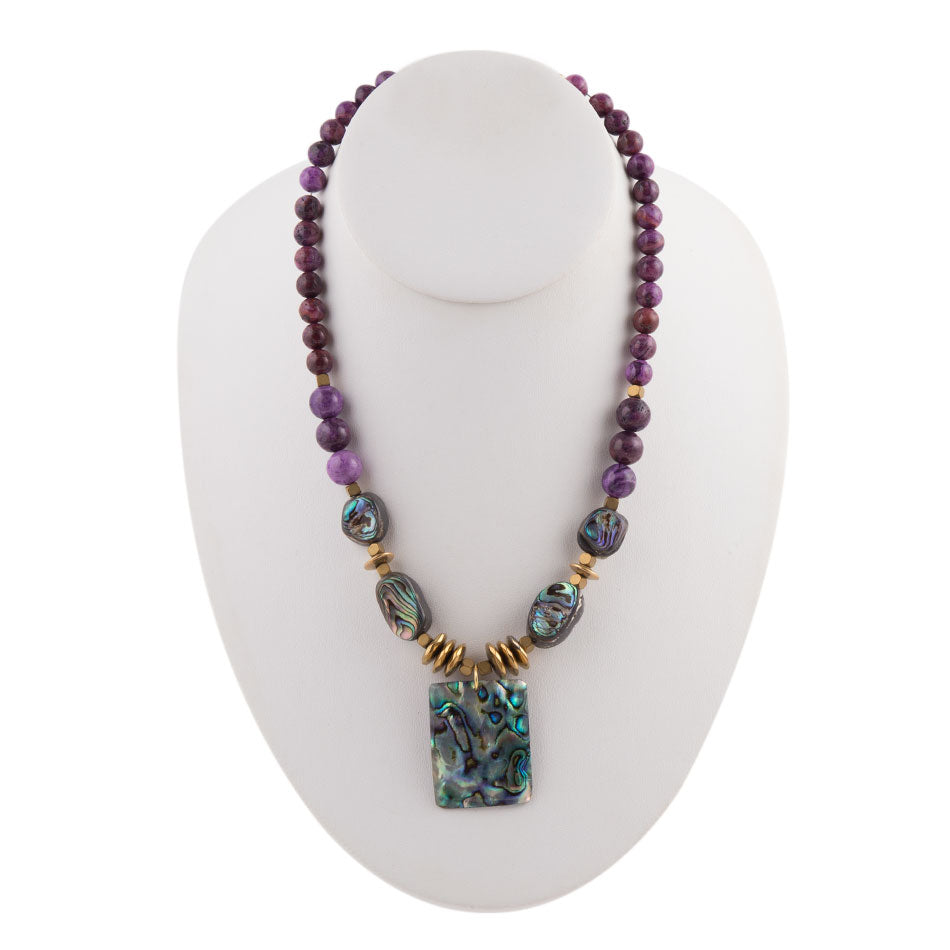 Purple Hues Necklace