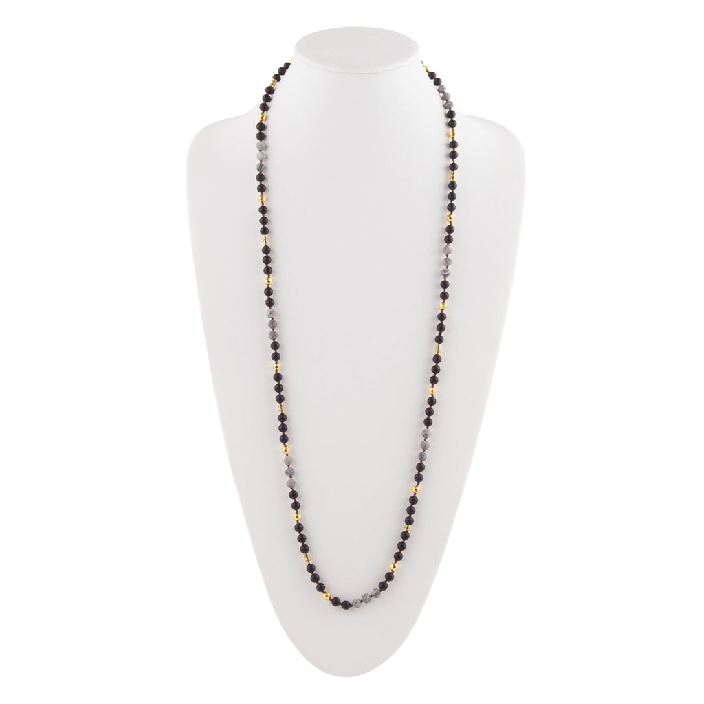 The Pharaoh of Egypt Onyx Necklace
