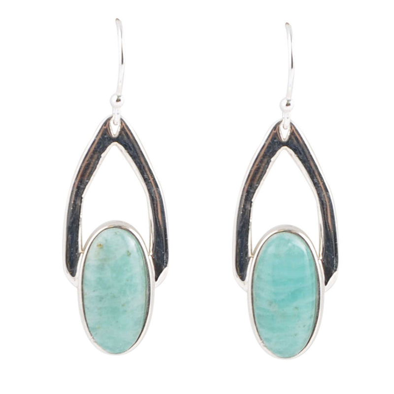 Shine Bright Amazonite Earring