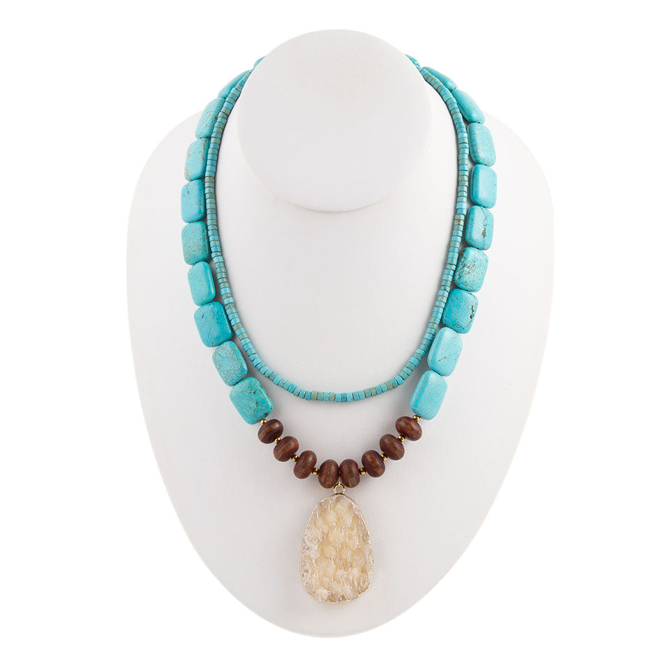 Desert Turquoise Necklace