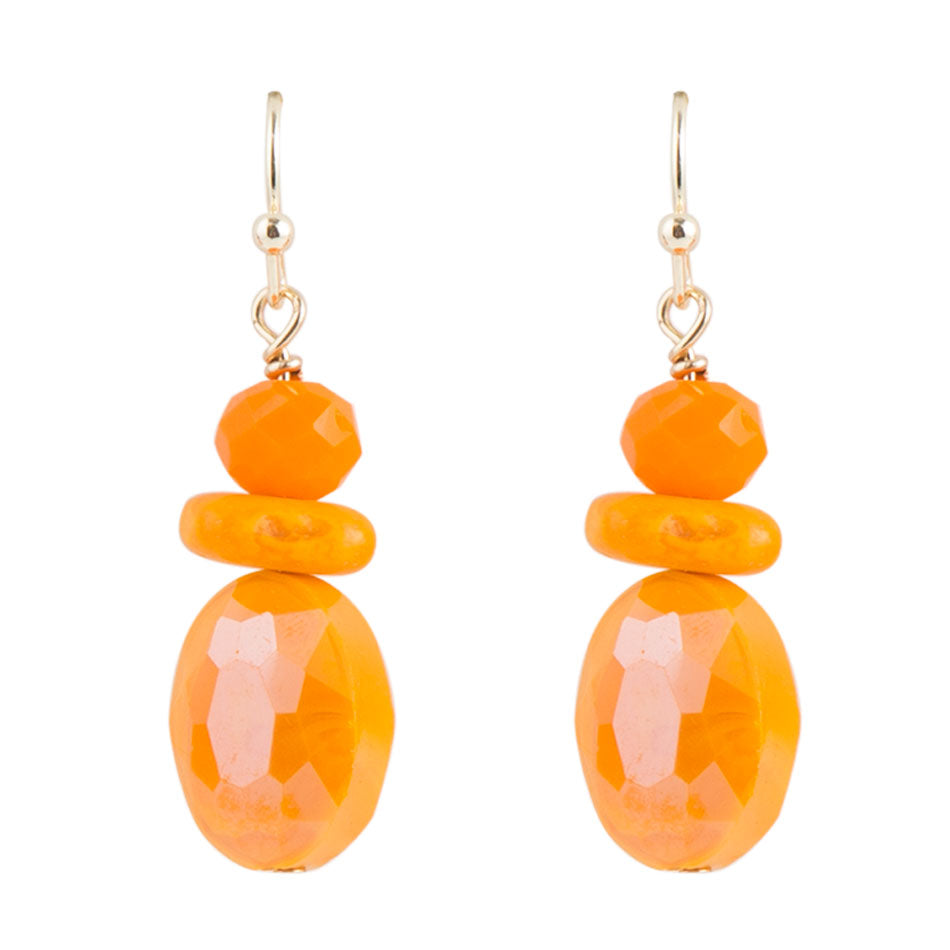 Orange Peel Earring