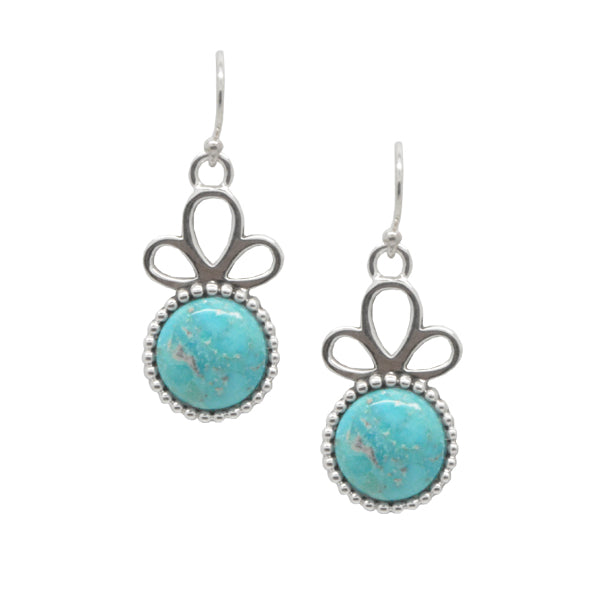 Blue Pool Earring