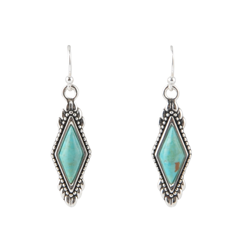 Anemone Turquoise Earring