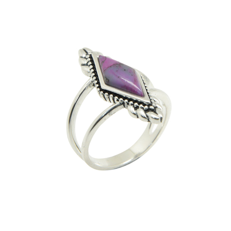 Elizabeth Ring-Purple Turquoise
