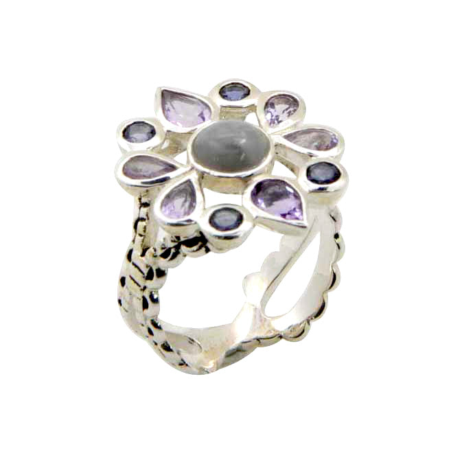 Amethyst Ice Ring