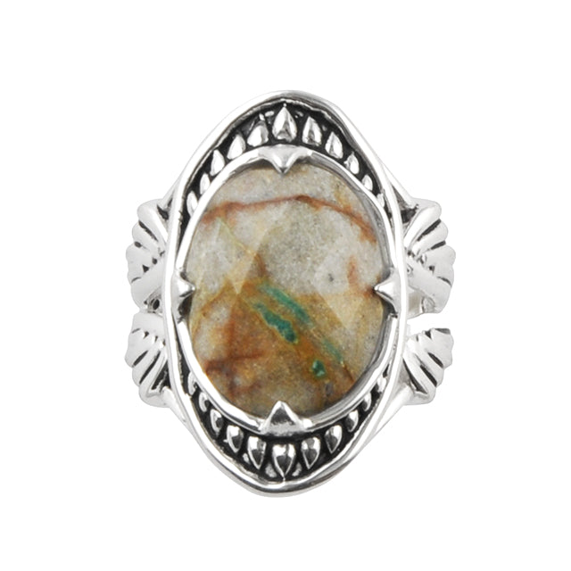 Sweet Dreams Boulder Turquoise Ring