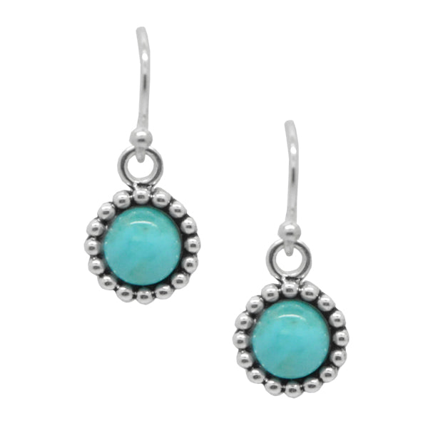 Hope Floats Turquoise Earring