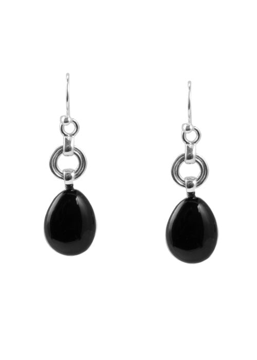 Onyx Drop Earring