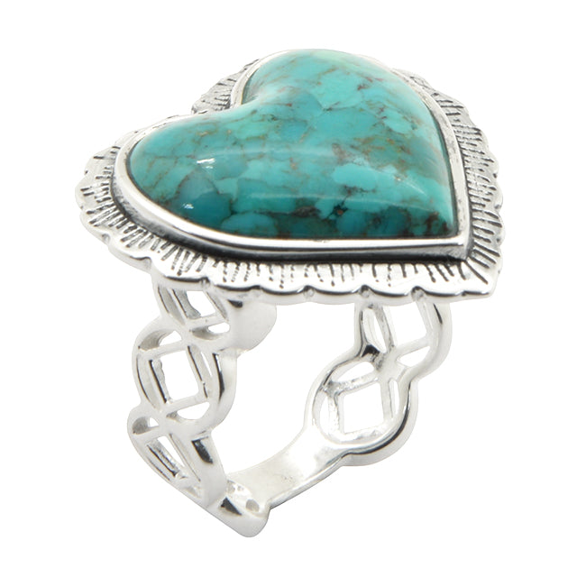 Amour Bleu Turquoise Ring
