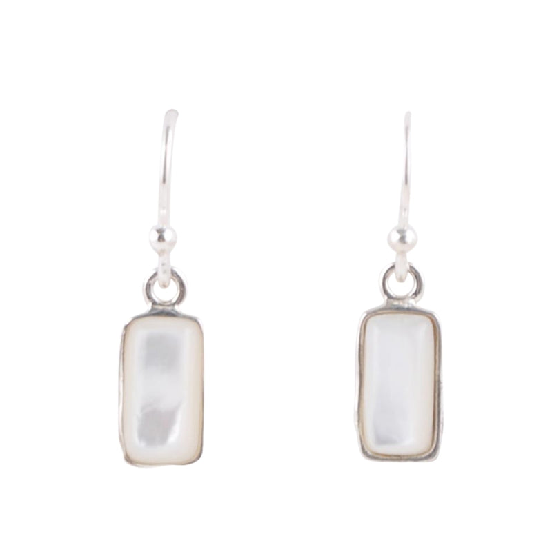 Hang Time Earring-Mother of Pearl