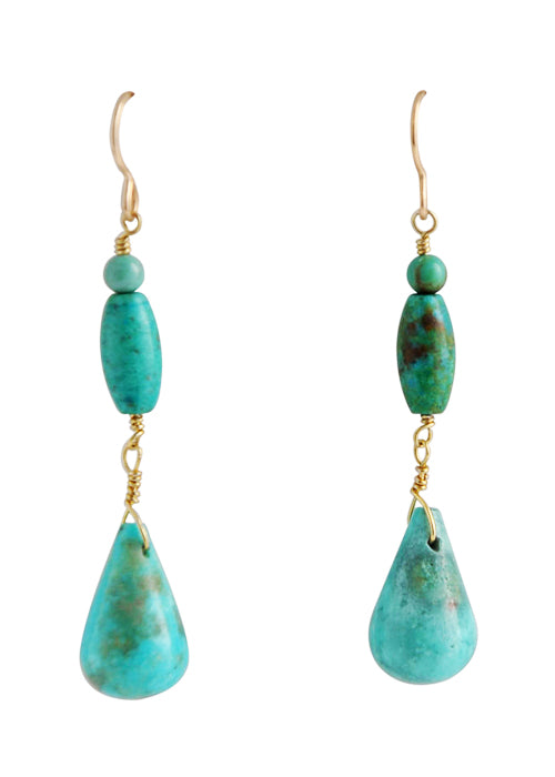 Turquoise Water Drop Earring