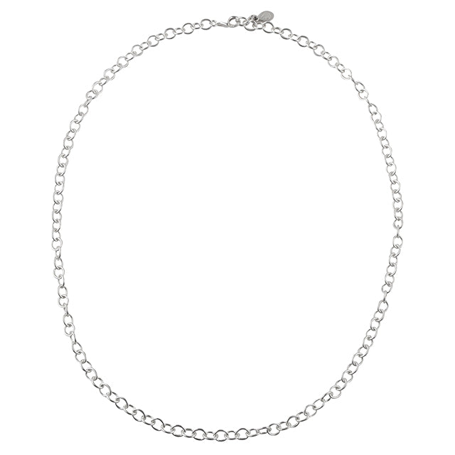Sterling Link Chain- 24""