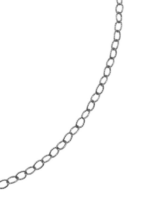 Sterling Silver Small Link Chain-24""