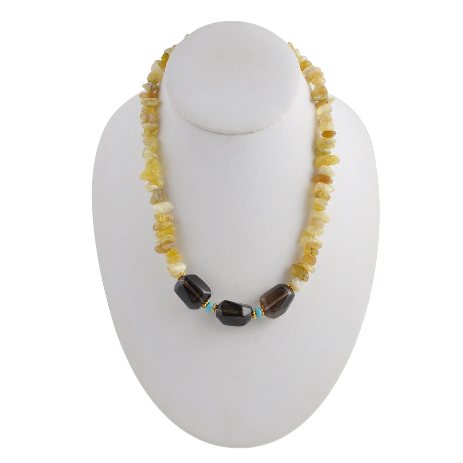 Sunny Citrine Necklace