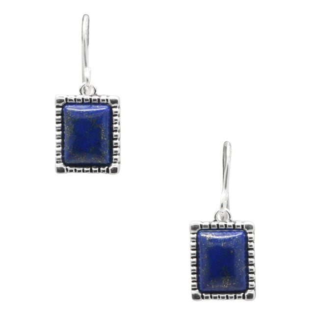 Picture Perfect Lapis Earring
