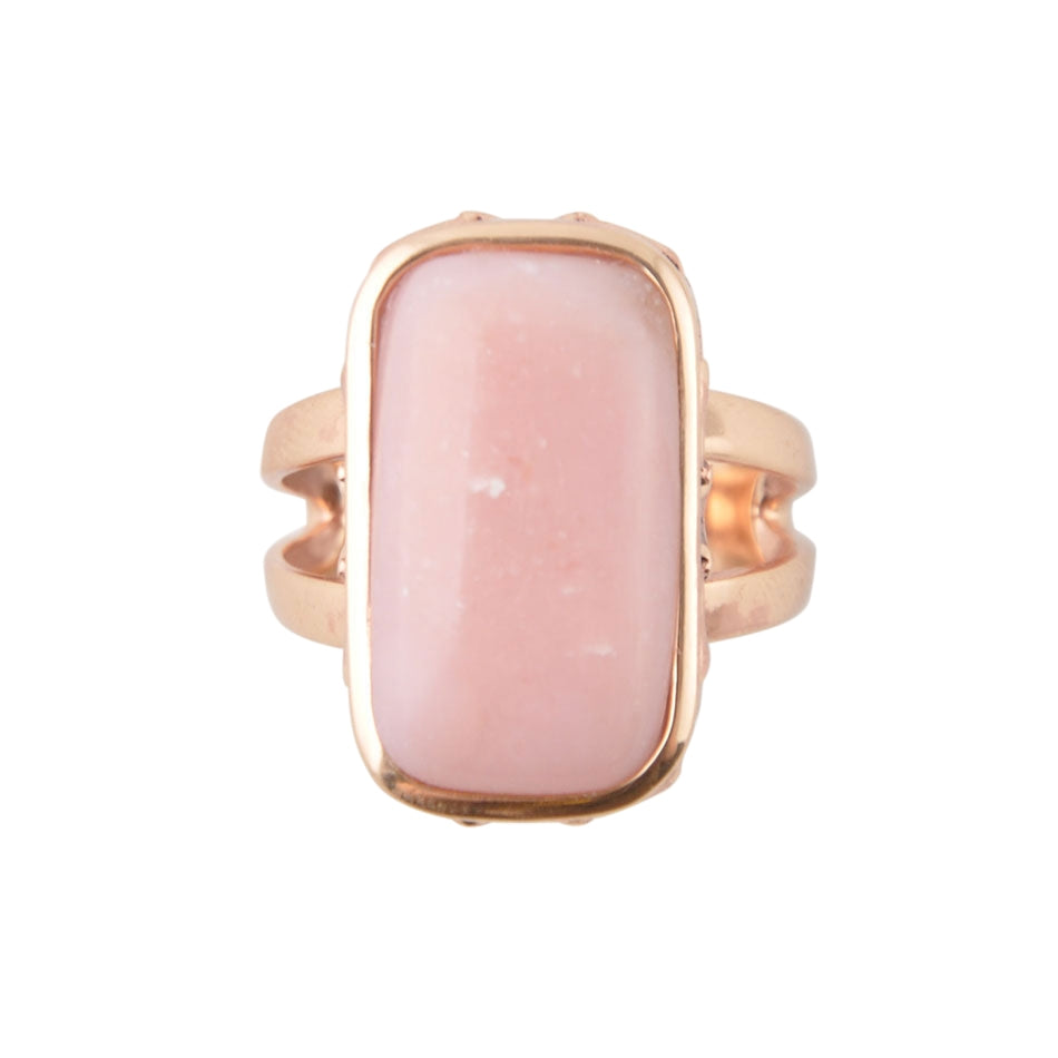 She's Glowing Ring-Pink Opal