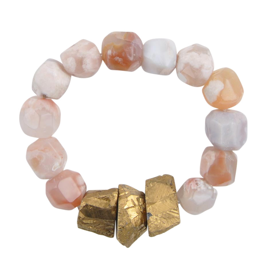 All That Glitters Stretch Bracelet