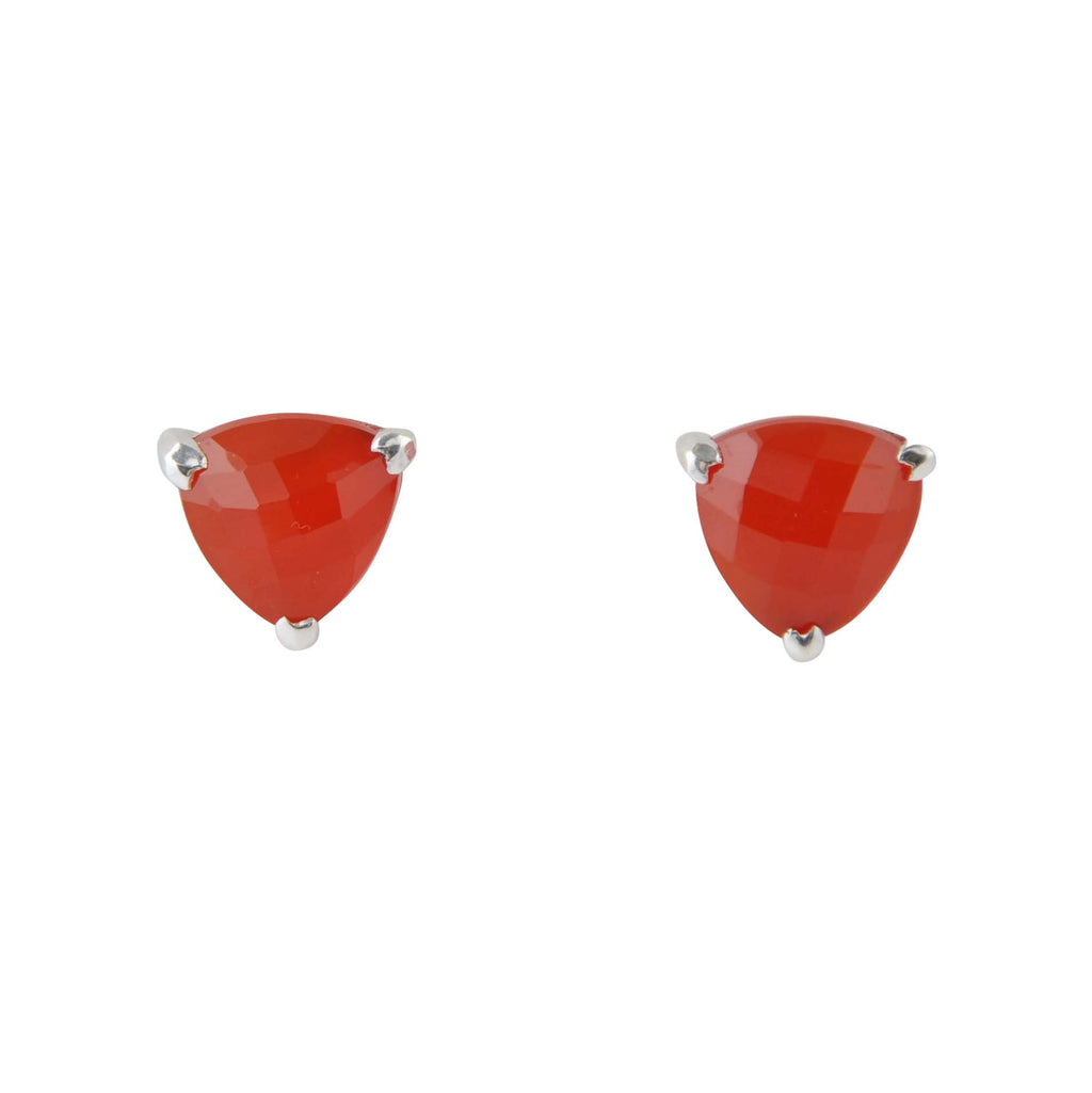Red Alert Post Earring