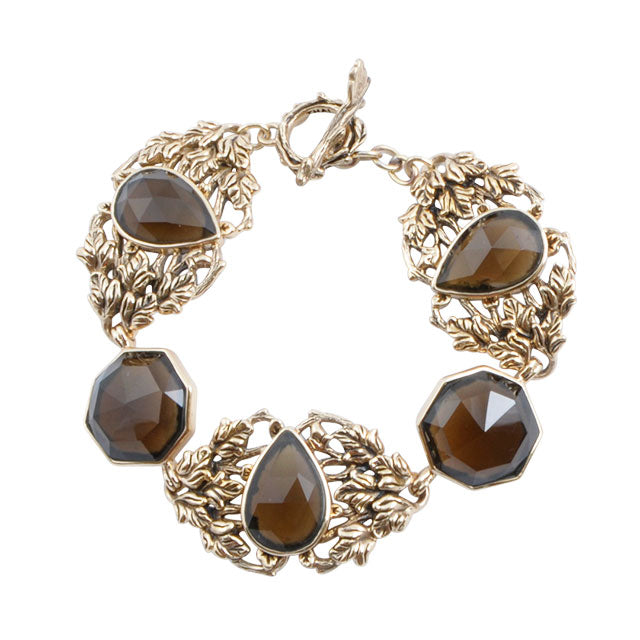 Enchanted Smoky Quartz Bracelet