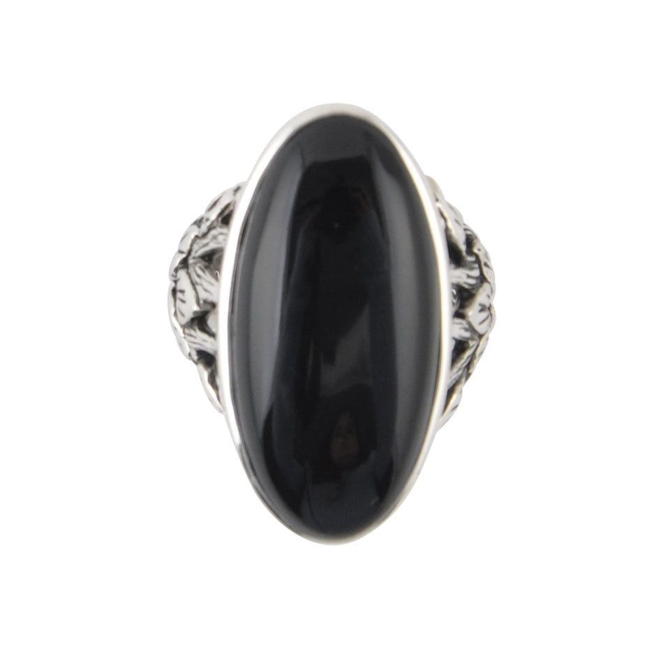 """Not So Basic"" Black Ring"