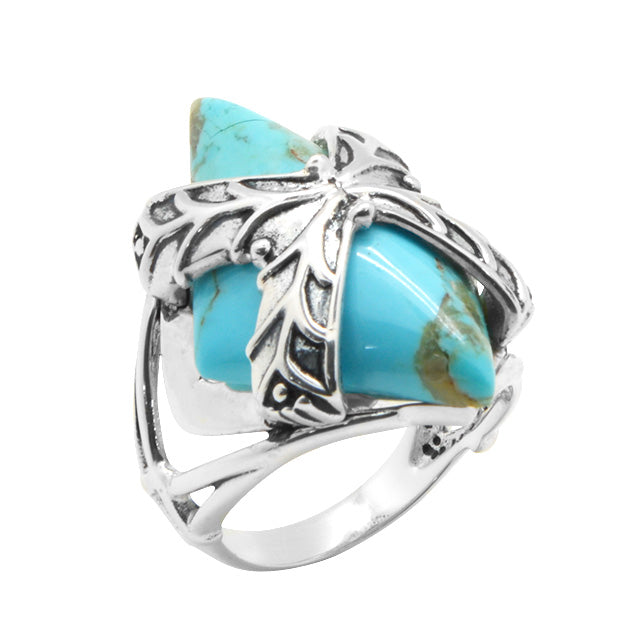 Gift It To Me Sterling and Turquoise Ring