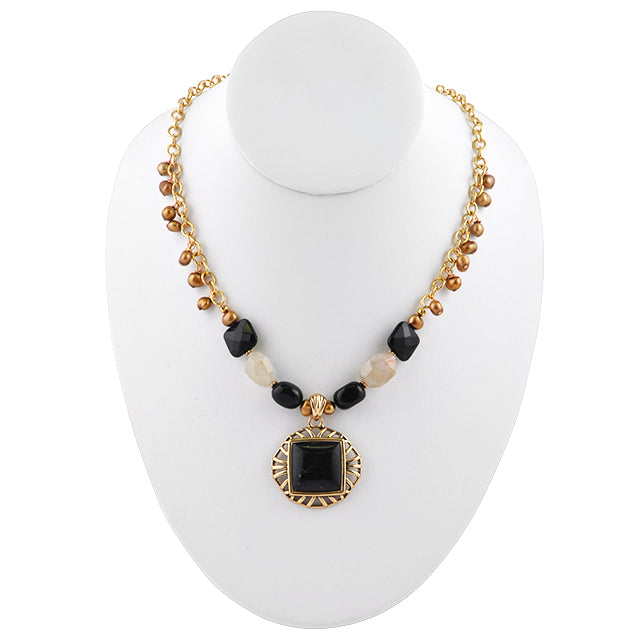 Ensemble Stone Necklace